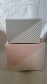 pink and grey strong magnetic boxes