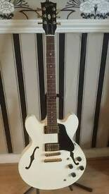 GIBSON USA 335 ALPINE WHITE (1987)