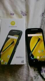 Moto e 4G lite phone