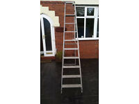Huge Aluminium Step Ladders