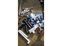 plumbing /guttering/ job lot of items ........REDUCED.........docking