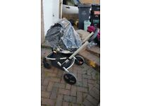 Mothercare expidor travel system - pram & carseat