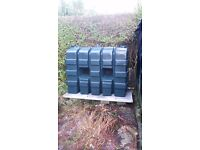 Oil tank work carried out.