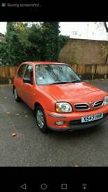 Nissan micra k11 car has been sold