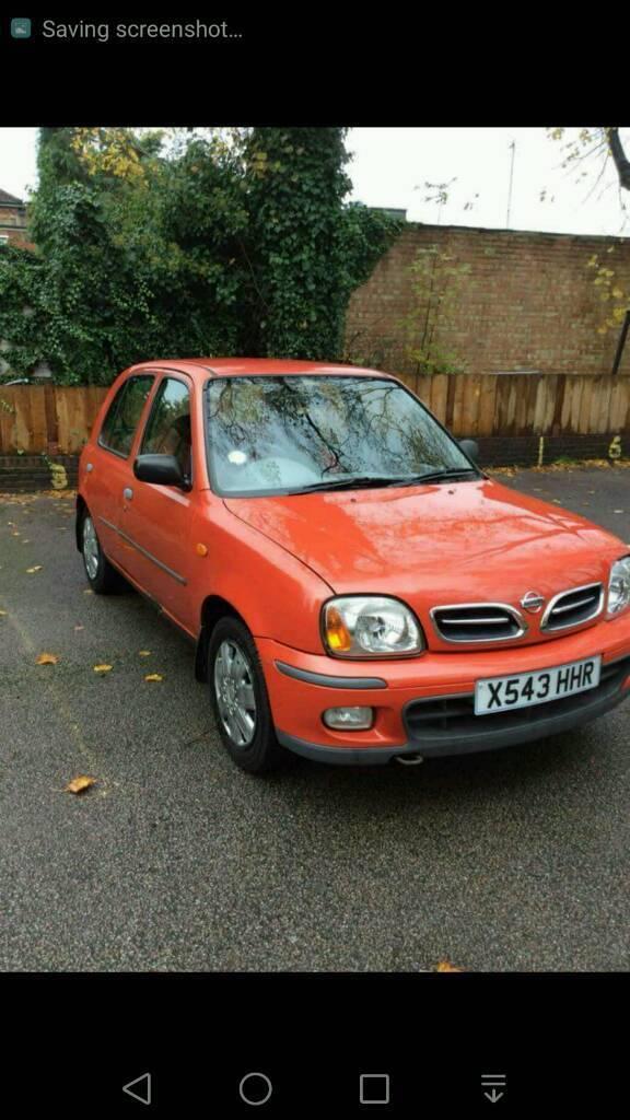 Nissan micra k11 car has been sold