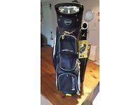 """AquaPel 9"""" icart golf bag"""