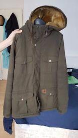 Super cozy Carhartt parka jacket