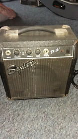 Fender Squier SP10 Guitar amp.