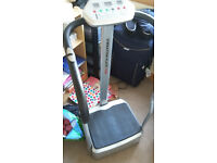 Vibration Plate and Abdominal Trainer