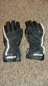 Rayven ladies motor bike gloves size small