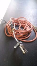 Blow torch and hose