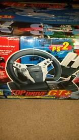 Playstation/ps2 steering wheel