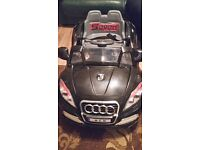Childs Electric Ride on Audi car