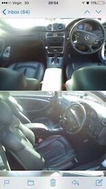 Mercedes clk for sale!the car is in verry good conditiomn!