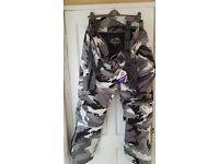 Men's 7XL Camo Style Motorcycle Trousers