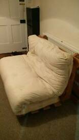 White futon for sale