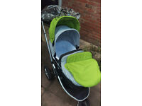 mothercare xpedior with car seat