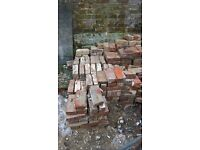 Approx. 150 old bricks from Georgian house for sale £20 the lot collection only