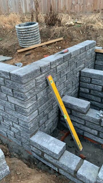 Grey Garden Walling | in Swaffham, Norfolk | Gumtree