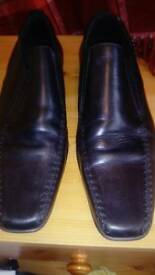 Mens black shoes size 10