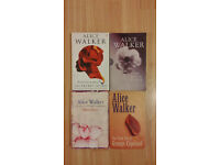 Three Alice Walker Fiction Novels/Books
