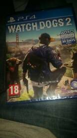 (BRAND NEW) WATCH DOGS 2 FOR PS4