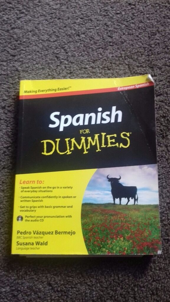 Spanish For Dummies Book In Blyth Northumberland Gumtree