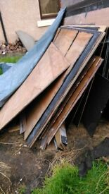 Plywood Sheets - Ideal for Arch-Building for Fair / Gala Day