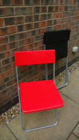 Extra chairs for family to sit on for christmas dinner or other occasions