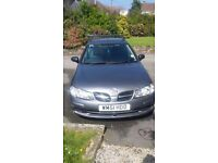 Nissan Almera. Spares and repairs.