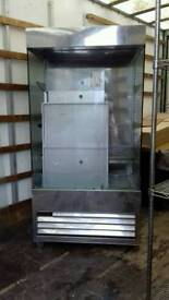 Shop chiller display cabinets