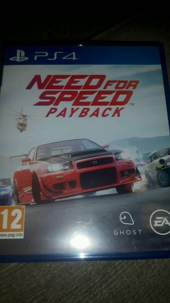 Need For Speed Payback On Ps4 GBP35