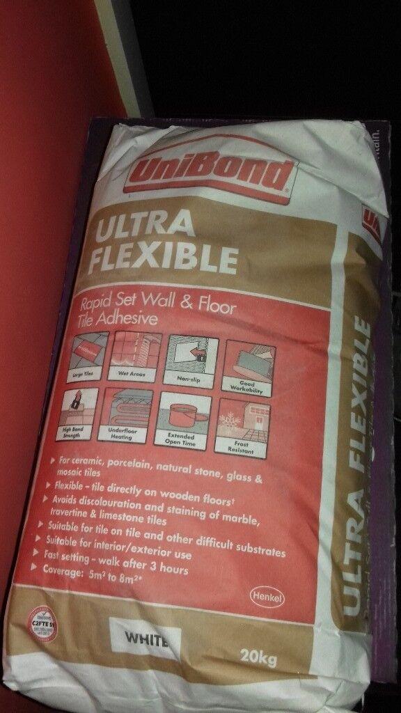Ultra Bond Ultra Flexible Rapid Set Wall Floor Tile Adhesive In