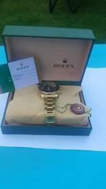 Brand new rolex watch with box and paperwork