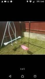 Swings n sea saw set