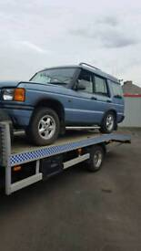 Breaking landrover discovery td5