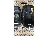 Maxi Cosi Pebble Plus Car Seat and 2WayFix Base