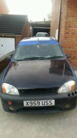 Ford Fiesta Mk5 1.7 puma zetec conversion