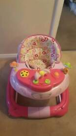 Pink- 2 in 1 walker rocker