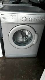 Silver BEKO washing machine 6kg 1400