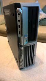 HP COMPAQ dc7100 SFF COMPUTER.PENTIUM 4 CPU 2.8GHz. 4GB RAM.1TB HDD.HDMI GPU.