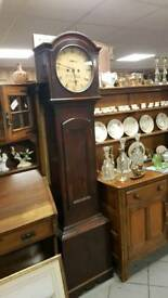 Held! Beautiful Irish Grandfather clock