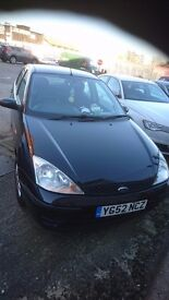 Ford focus 52 plate 1.4 petrol quick sale decent offers m.o.t untill August 2017