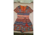 Womans Playsuit,size 8,very good condition
