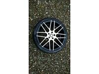 "Cades 19"" VW Alloy Wheels with Tyres"