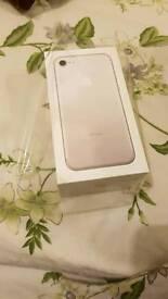 APPLE IPHONE 7 32GB SILVER UNLOCK BRAND NEW