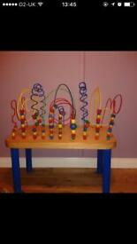 Abacus Table
