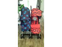 **BRAND NEW**Cosatto too and fro duo twin pushchair.