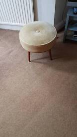 Retro foot stool