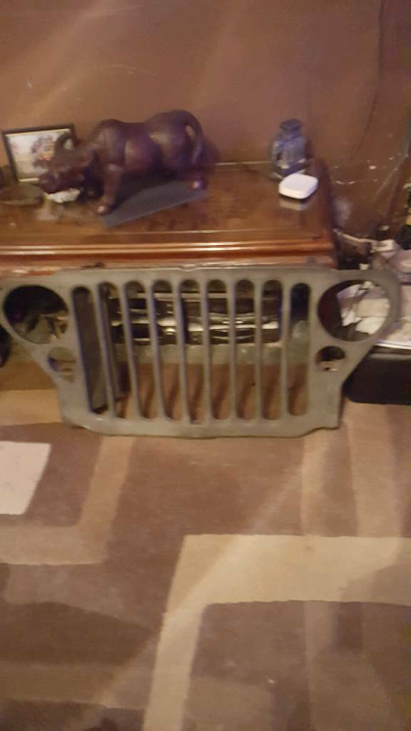 Ww2 willys jeep front grill